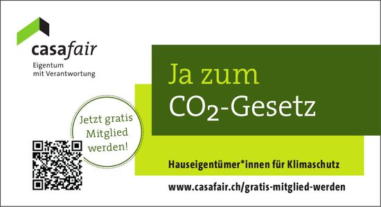Ja zum CO2-Gesetz