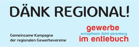 Gewerbe im Entlebuch - Dänk Regional!