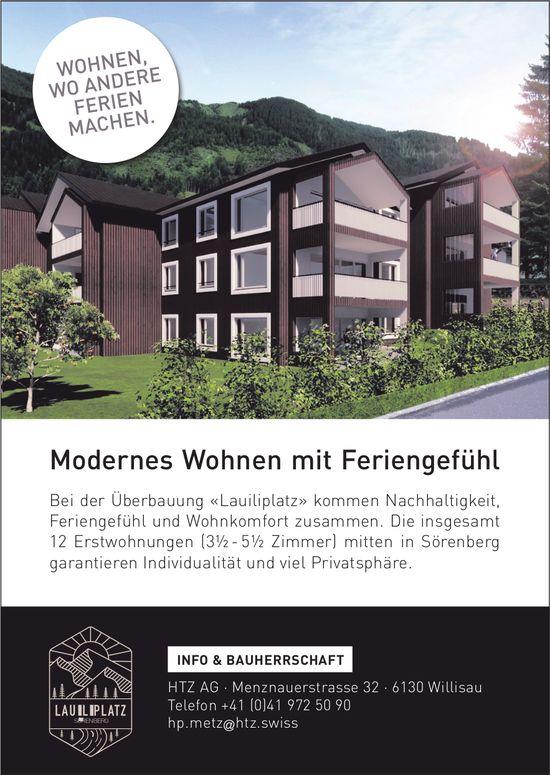 3.5- bis 5.5-Zimmer-Wohnungen, Sörenberg, zu vermieten