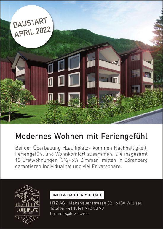 3.5-5.5 Zimmer-Wohnungen, Sörenberg, zu vermieten