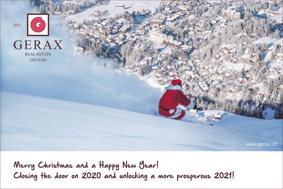 Gerax SA, Gstaad - Merry Christmas and a Happy New Year!