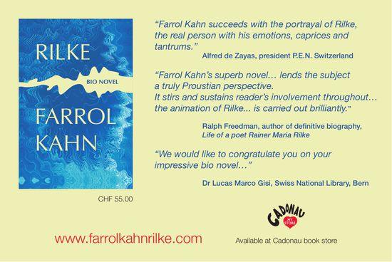 Farrol Kahn - Rilke, bio novel