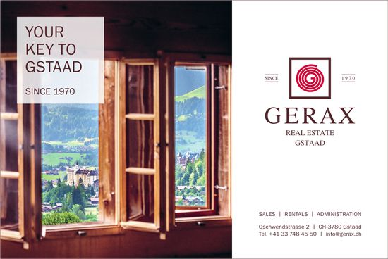 Gerax Real Estate, Gstaad - Your key to Gstaad