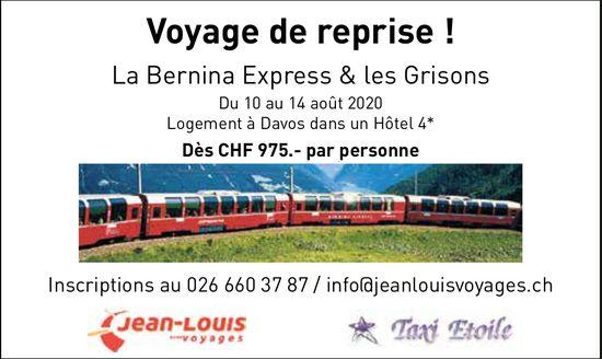 La Bernina Express & les Grisons, Du 10 au 14 août, Davos