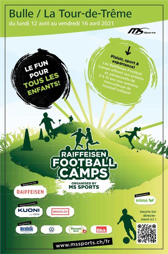 Raiffeisen Football Camps, 12. Avril, Bulle