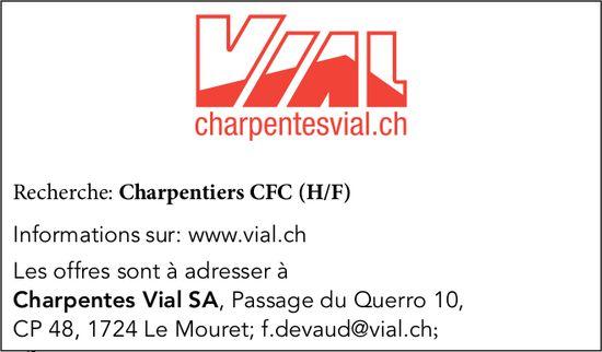 Charpentiers CFC (H/F), Charpentes Vial SA, Le Mouret, recherché