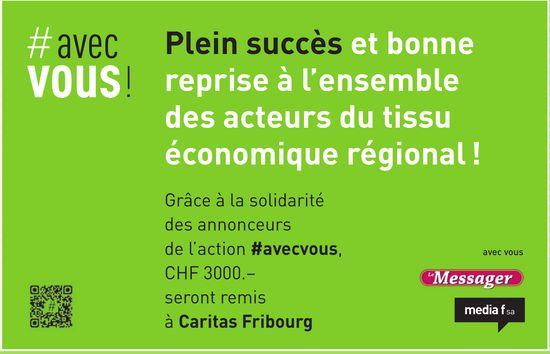 Media f SA - Plein succès et bonne reprise à l'ensemble des acteurs du tissu économique régional !