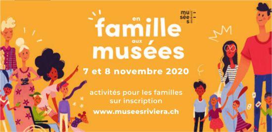 En famille aux musées, 7 et 8 novembre, musée riviera
