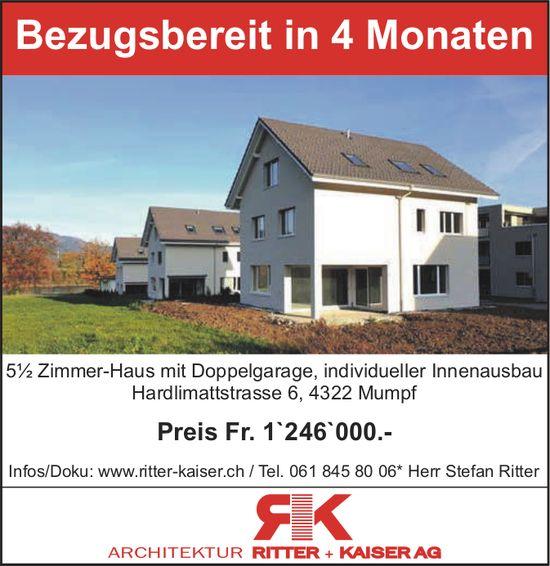 5.5-Zimmer-Wohnung, Mumpf, zu verkaufen