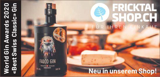 "Fricktalshop.ch - World Gin Awards 2020 ""Best Swiss Classic"" Gin: Neu in unserem Shop!"