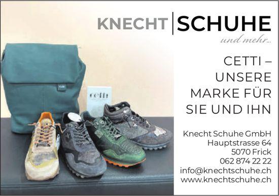Knecht Schuhe GmbH, Frick - Cetti – Unsere Marke Für Sie Und Ihn
