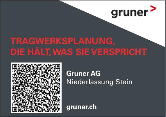 Gruner AG, Stein - Tragwerksplanung, die Hält,  was Sie verspricht.