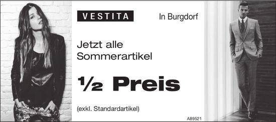 Vestita, Burgdorf - Jetzt alle Sommerartikel ½ Preis