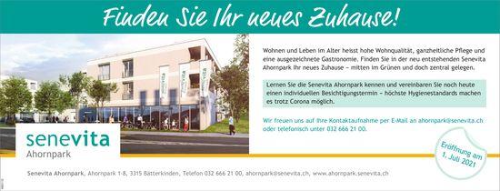 Senevita Ahornpark, Bätterkinden - Finden Sie Ihr neues Zuhause!