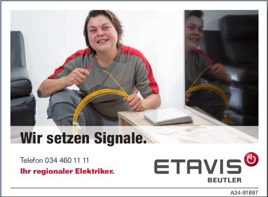ETAVIS BEUTLER, Ihr regionaler Elektriker - Wir setzen Signale.