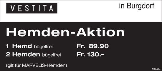 Vestita, Burgdorf - Hemden-Aktion