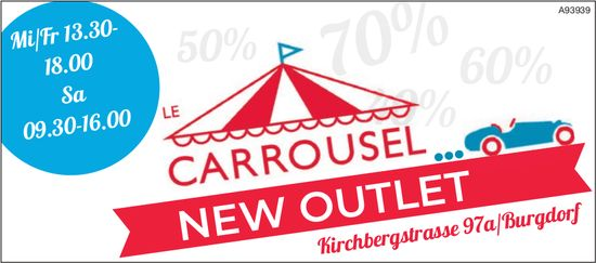Le Carrousel, New Outlet, Burgdorf