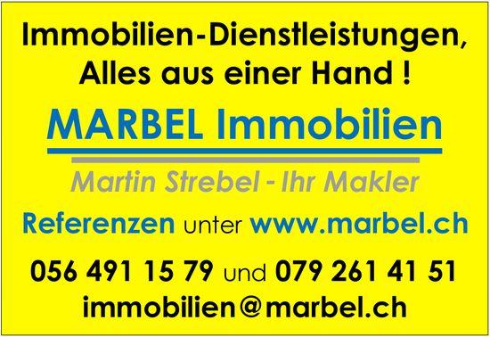 MARBEL Immobilien - Immobilien-Dienstleistungen,  Alles aus einer Hand !