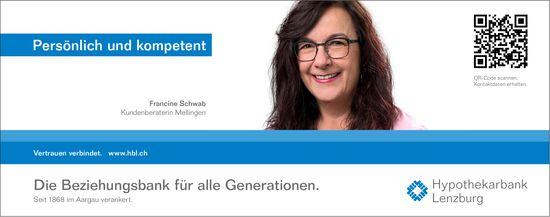 Hypothekarbank Lenzburg, Persönlich und kompetent