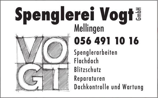 Spenglerei Vogt GmbH, Mellingen - Spenglerarbeiten
