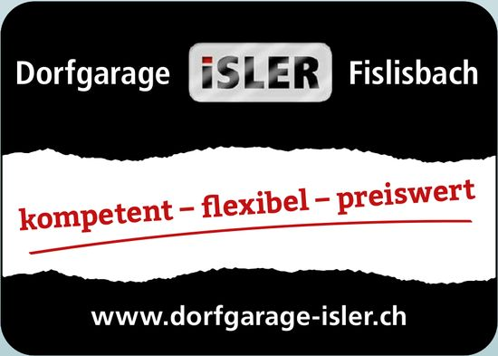 Dorfgarage Isler, Fislisbach - kompetent, flexibel,  preiswert