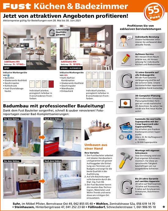Dipl. Ing. Fust AG, Füllinsdorf - Küchen & Badezimmer