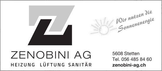 Zenobini AG, Heizung Lüftung Sanitär, Stetten - Wir nutzen die Sonnenenergie