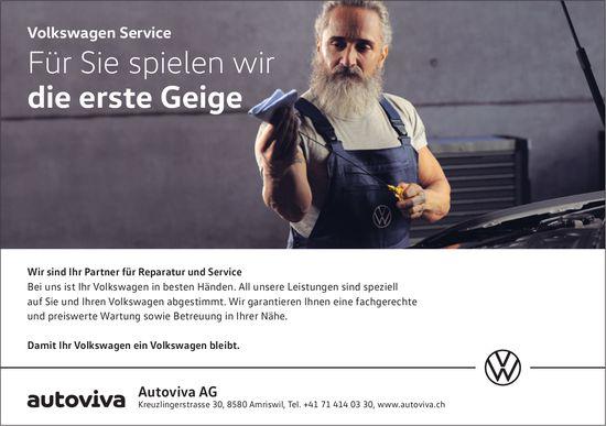 Autoviva AG, Amriswil - Für Sie spielen wir die erste Geige