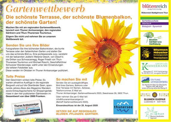 Gartenwettbewerb: Die schönste Terrasse,  der schönste Blumenbalkon, der schönste Garten!