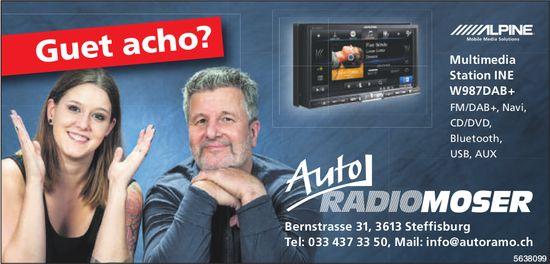 Auto Radio Moser,  Steffisburg - Guet acho?