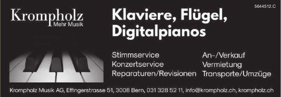 Krompholz Musik AG - Klaviere, Flügel, Digitalpianos