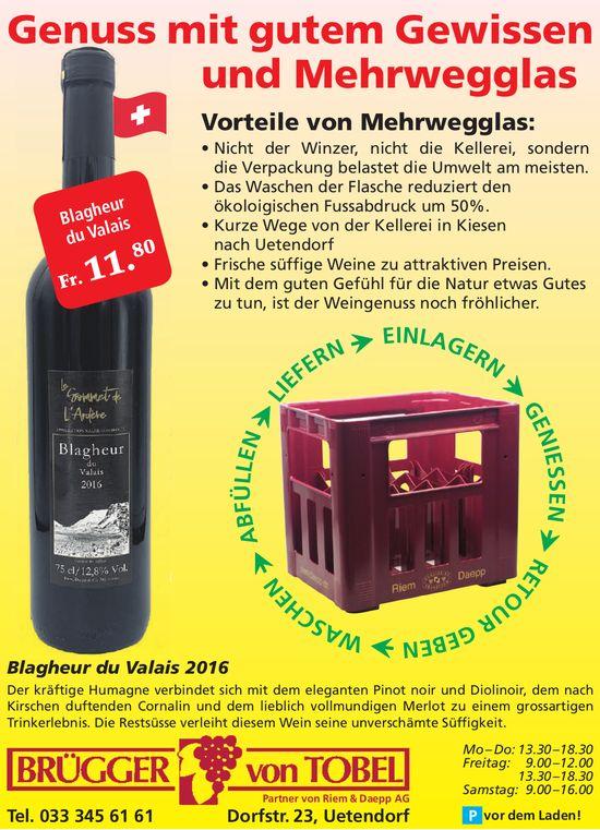 Brügger von Tobel, Uetendorf - Genuss mit gutem Gewissen und Mehrwegglas