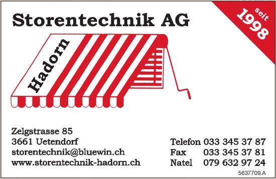 Storentechnik AG, Uetendorf - Hadorn