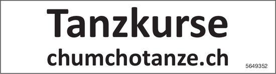 Tanzkurse - chumchotanze.ch