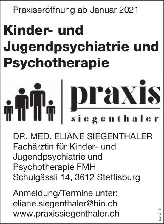 Praxis Siegenthaler, Steffisburg - Kinder- und Jugendpsychiatrie und Psychotherapie