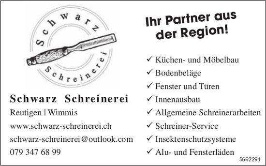 Schwarz Schreinerei, Reutigen - Ihr Partner aus der Region!