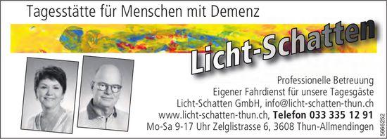 Licht-Schatten GmbH, Thun - Tagesstätte für Menschen mit Demenz