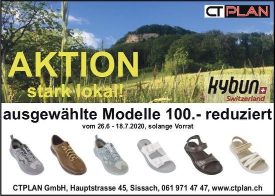 CTPLAN GmbH, Sissach - Aktion stark lokal