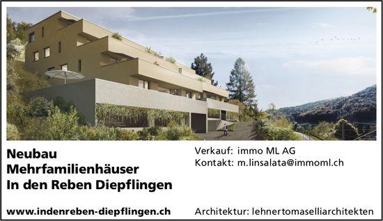Neubau,  Mehrfamilienhäuser, Diepflingen,  zu verkaufen
