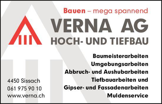 Verna AG, Hoch- und Tiefbau, Sissach