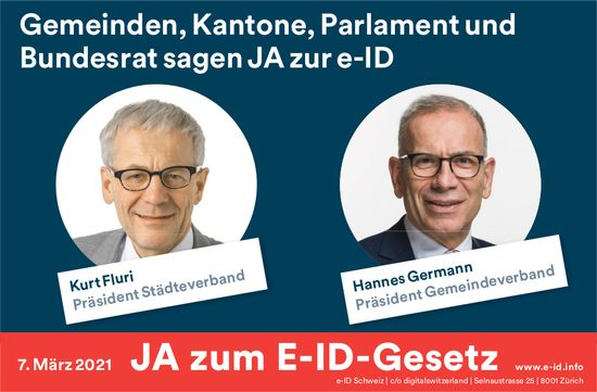 JA zum E-ID-Gesetz