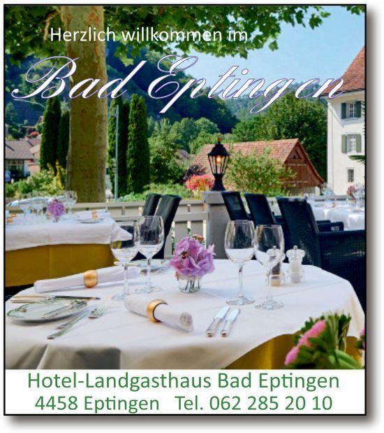 Hotel-Landgasthaus Bad Eptingen, Herzlich Willkommen