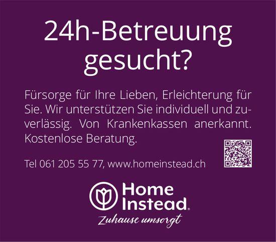 Home Instead, 24h-Betreuung gesucht?