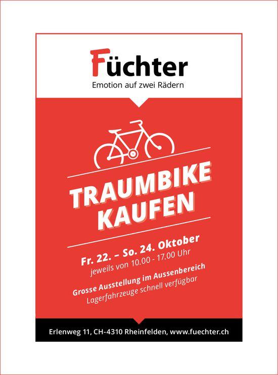 Füchter, Emotion auf zwei Rädern, Rheinfelden - Traumbike kaufen