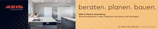 Heid Küchen AG, Sissach - beraten. planen. bauen.