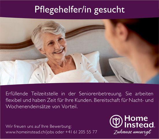Pflegehelfer/in, Home Instead, gesucht