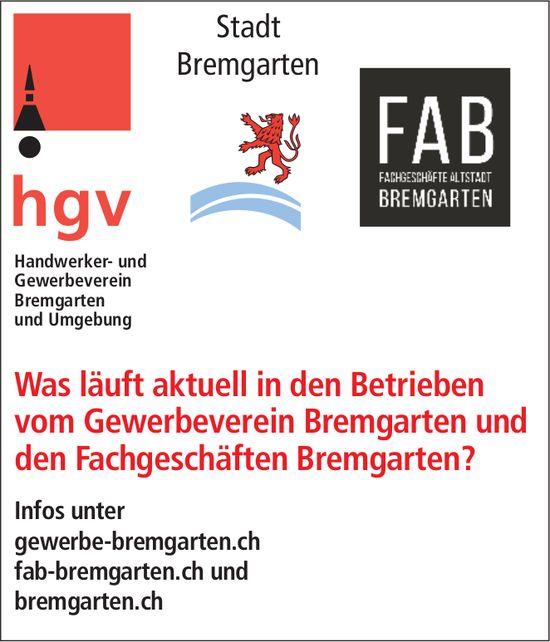Was läuft aktuell in den Betrieben vom Gewerbeverein Bremgarten und den Fachgeschäften Bremgarten?