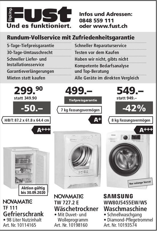 Dipl. Ing. Fust - Rundum-Vollservice mit Zufriedenheitsgarantie