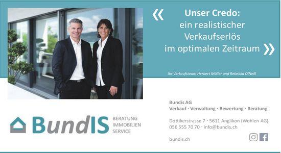 BundIS AG, Anglikon - Beratung, Immobilien und Service