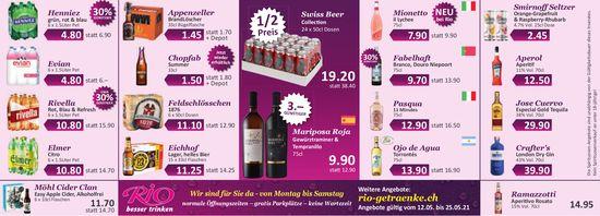 Rio Getränke Markt - Wochenaktion